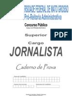 Jornalista - Univ Mato Grosso