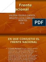 Frente nacional