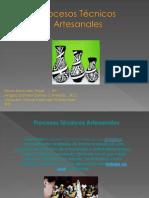 Procesos Técnicos Artesanales 5 bloque