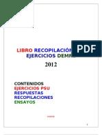 LIBRO RECOPILACIÓN PSU 2012