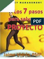 Los 7 Pasos Para Salvar Un Proyecto