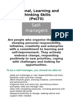 Self Manager PLTS Poster
