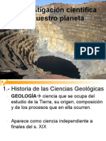 Investigación geológica