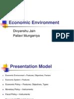 Economic Environment Ppt