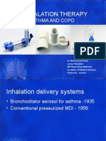 Inhalation Therapy in Asthma and Copd