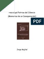 Majfud Jorge - Hacia Que Patrias Del Silencio (Memorias de Un Desaparecido)