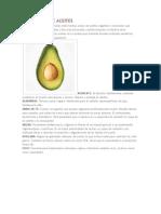 Diccionario de Aceites