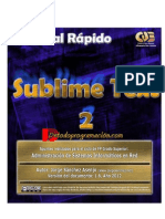 Tutorial de Sublime Text 2