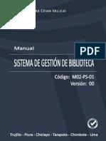 MANUAL DEL SISTEMA DE GESTIÓN DE BIBLIOTECA.