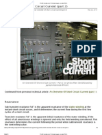 An Overview of Short Circuit Current (Part 2)