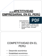Competitividad Empresarial en Peru