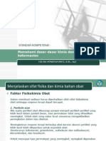 Memahami Dasar-dasar Kimia Dan Prinsip Kerja Kefarmasian
