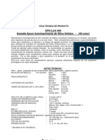 EPO-LUX 400 Esmalte Epoxi Autoimprimante de Altos Solidos STEELCOTE
