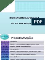 Biotecnologia Aplicada I