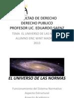 El Universo de Las Normas (1)