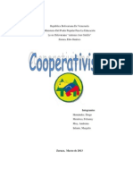 El Cooperativismo