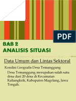 PPT Bab 2 Analisis Situasi