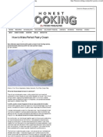How to Make Perfect Pastry Cream - Honest Cooking