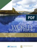 Capgemini World Wealth Report 2013