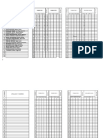 REGISTROS Evaluación. lista-ESF.2913. Tercero  A