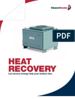 CB-8491 Heat Recovery Brochure