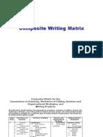 Composite Writing Matrix