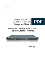 IP170 e IDU Manual Esp