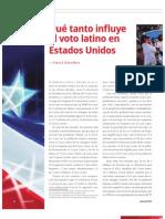Qué tanto influye el voto latino en EEUU (La Nación 2377)