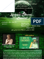 Dossier Biologia Cultural!