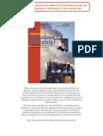 Heavy metal adsorption by modified oak sawdust - Thermodynamics and kinetics