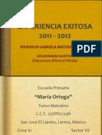 WENDOLIN 2011-2012...