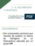 TEMA 5 - 6 Alcoholes y Fenoles QO