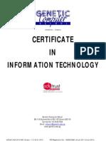 GCS-MC-ACA-2012-008 - Course Brochure - CIT _Ver 1.0