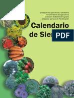Calendario de Siembra MAG
