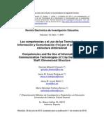 Las Competencias y Uso de TICS