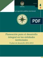 DNP Guía Planes de Desarrollo