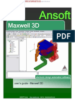Maxwell 3D v11 user's guide