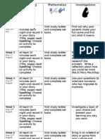 Homework Grid t3