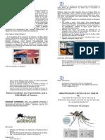 Cartilla de Prevención contra el Dengue