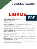 01 Libros Actualizado Abril 2013