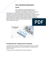 Software y Hardware Empresarial