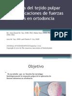 Presentacion Respuesta Del Tejido Pulpar Humano a La Ortodoncia