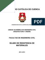 5 Silabo Resistencia de Materiales CIVIL (1)