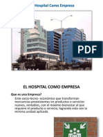 El Hospital Como Empresa