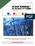 Cp2020 - Chrome Books 1-4 (Shadowrun Conversion)