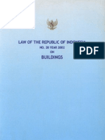 Law No 28 of 2002 on Buildings