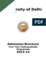 university of delhi.doc