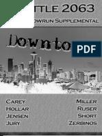 Shadowrun - The Shadowrun Supplemental Downtown Seattle
