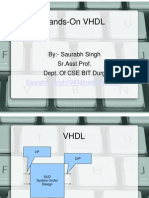 Vhdl Hands On