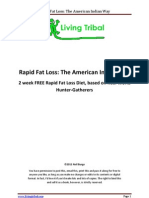 Rapid Fat Loss - The American Indian Way